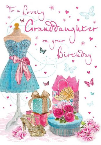 For A Lovely Granddaughter On Your Birthday C80183
